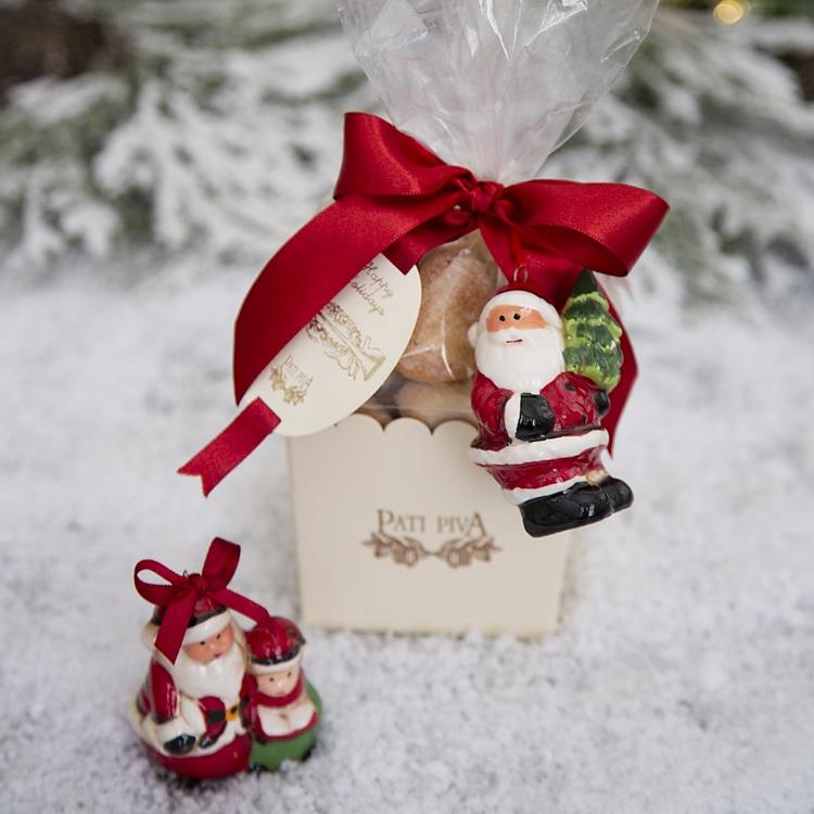 biscoitos de natal papai noel