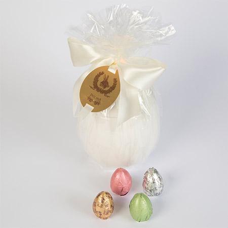 Ovo de Cerâmica com Ovinhos recheados