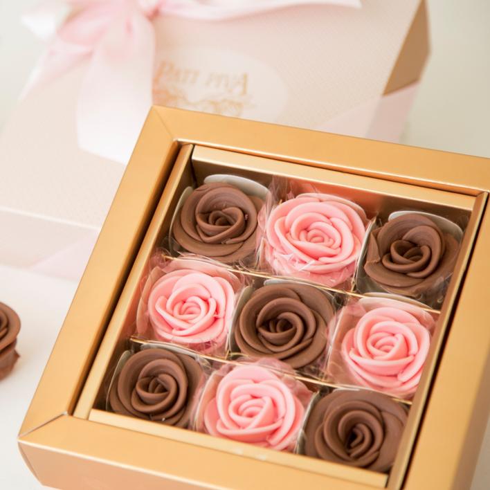 gaveta dia das maes - 9 rosas