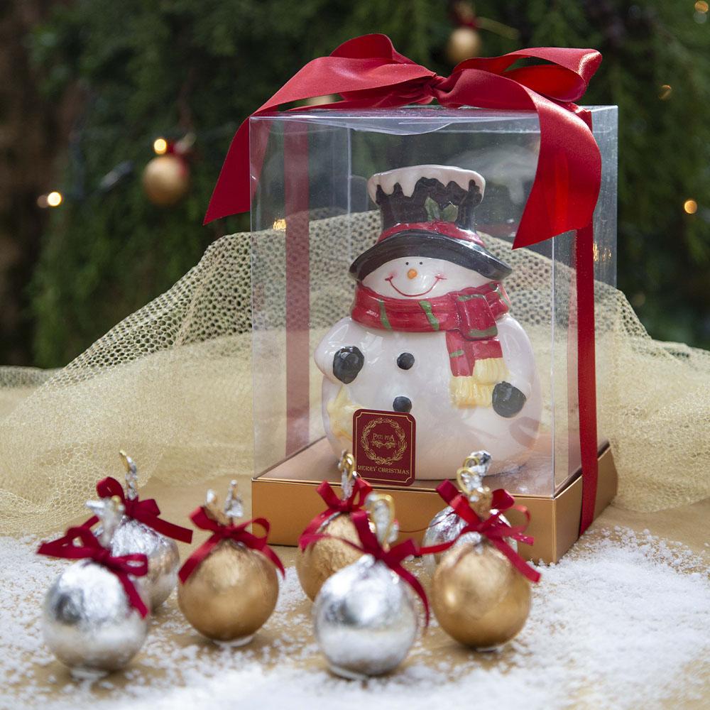 bomboniere boneco de neve