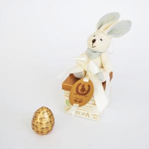 caixa presentinho com coelho