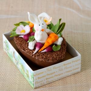 ovo decorado hortinha