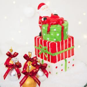 Bomboniere pilha de presentes
