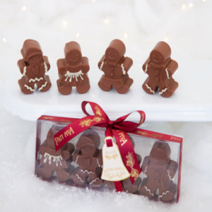 Caixa com 4 mini gingerbreads de chocolate (2)
