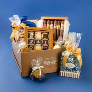 cesta pai chocolatra